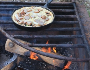 2012, unrelated: campfire pizza [katie eberhart]