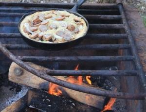 2012, unrelated: campfire pizza [katie eberhart]