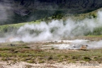 Fumaroles in Iceland. 2011.
