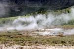 Fumaroles in Iceland. 2011.